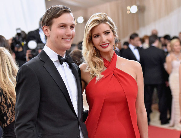 """NEW YORK, NY - MAY 02: Jared Kushner and wife  Ivanka Trump attend the """"Manus x Machina: Fashion In An Age Of Technology"""" Costume Institute Gala at Metropolitan Museum of Art on May 2, 2016 in New York City.  (Photo by Mike Coppola/Getty Images for People.com)"""