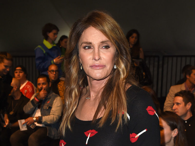 LOS ANGELES, CA - JUNE 10:  Caitlyn Jenner attends the Moschino Spring/Summer 17 Menswear and Women's Resort Collection during MADE LA at L.A. Live Event Deck on June 10, 2016 in Los Angeles, California.  (Photo by Kevin Winter/Getty Images)