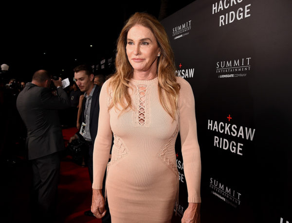 "BEVERLY HILLS, CA - OCTOBER 24:  Caitlyn Jenner attends the screening of Summit Entertainment's ""Hacksaw Ridge"" at Samuel Goldwyn Theater on October 24, 2016 in Beverly Hills, California.  (Photo by Kevin Winter/Getty Images)"