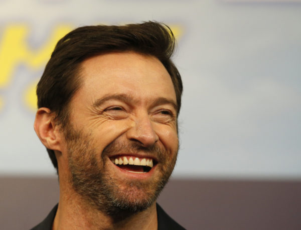 FILE - In this March 7, 2016, file photo, actor Hugh Jackman smiles during a press conference in Seoul, South Korea. Jackman posted a photo on Instagram Aug. 10, 2016, that has prompted speculation about his appearance. (AP Photo/Lee Jin-man, File)