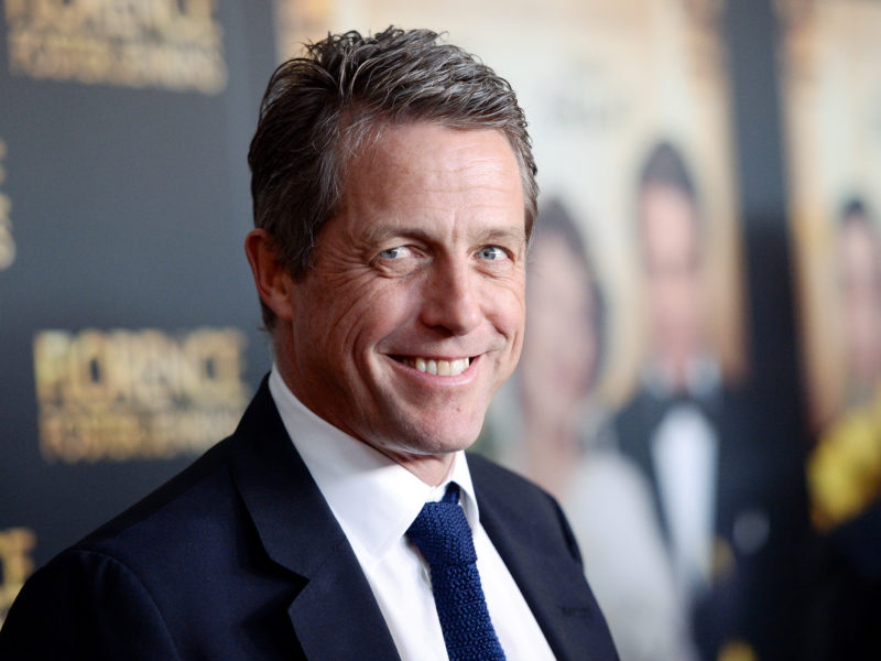 """Actor Hugh Grant attends the premiere of """"Florence Foster Jenkins"""" at AMC Loews Lincoln Square on Tuesday, Aug. 9, 2016, in New York. (Photo by Evan Agostini/Invision/AP)"""