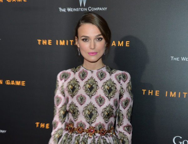 NEW YORK, NY - NOVEMBER 17:  Actress Keira Knightley attends the premiere of The Imitation Game, hosted By Weinstein Company on November 17, 2014 in New York City.  (Photo by Slaven Vlasic/Getty Images for The Weinstein Company)